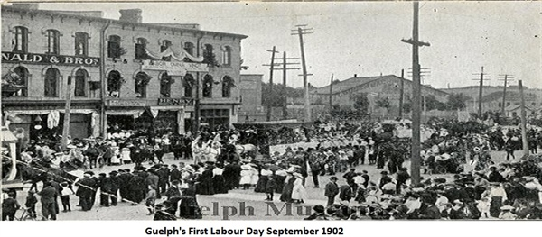 Guelph's First Labour Day Parade